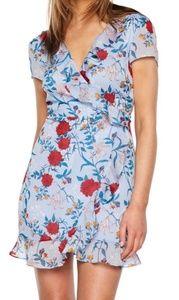 Elle Floral Georgette Dress